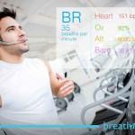 breath monitor treadmill